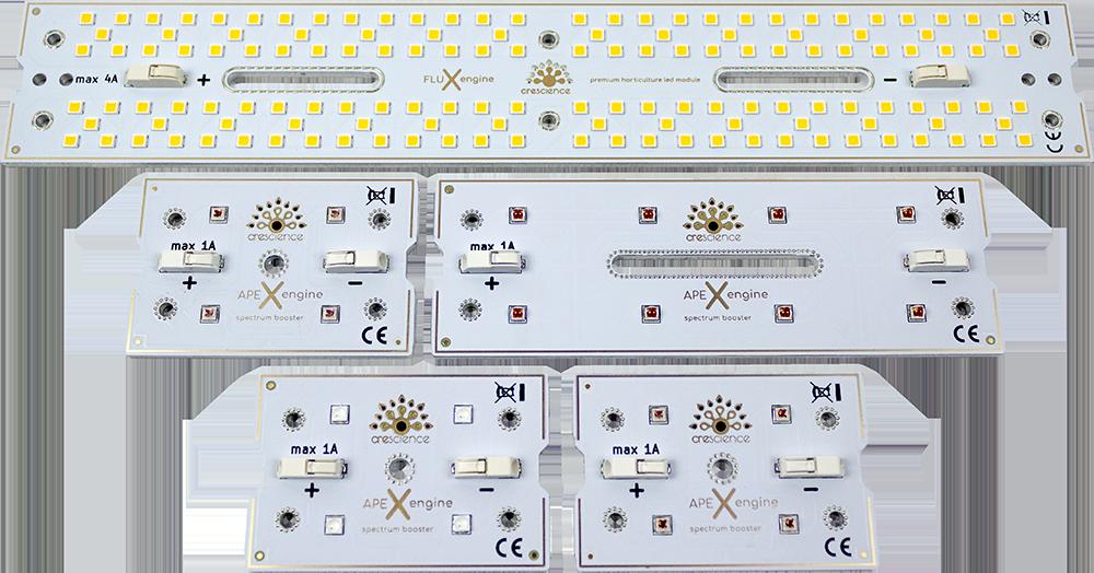 Samsung LM301H et OSRAM Square Boards
