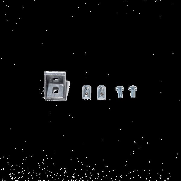 Kątownik do profili aluminiowych