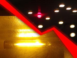 Заменить NDL на LED